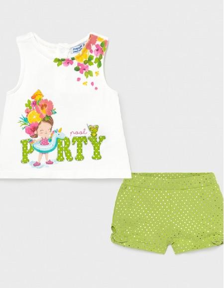 Pistachio Shorts Set