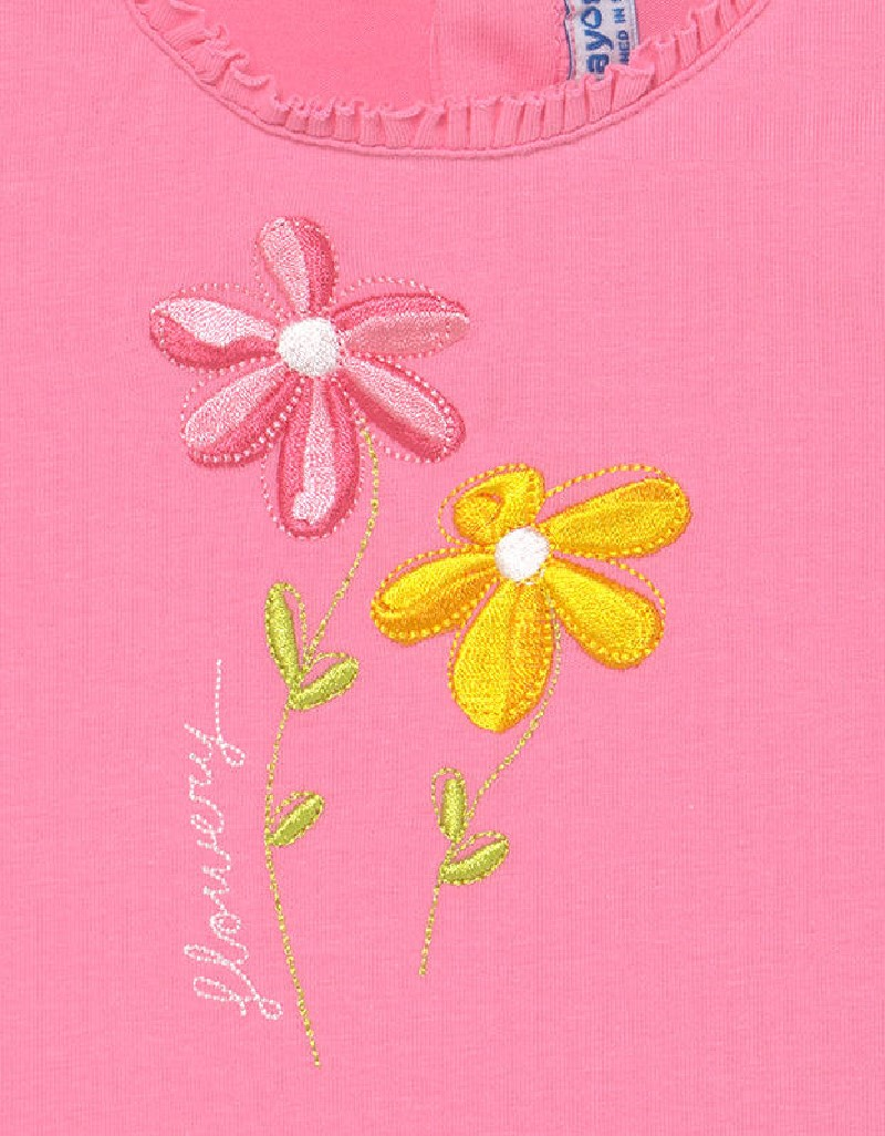 Pistachio Embroidered Bermuda Set