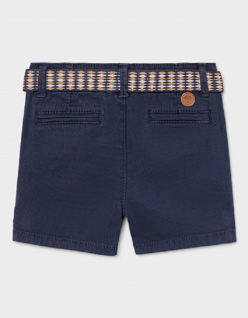 Nautical Pique Shorts W/ Belt