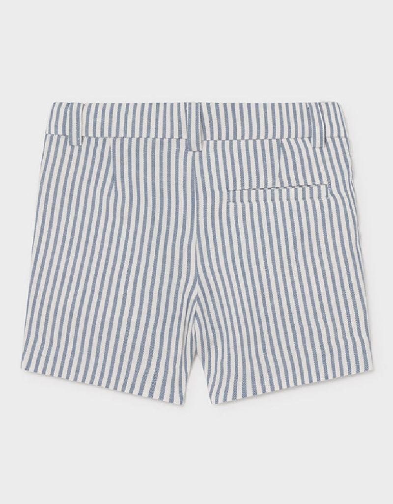 Nautical Linen Dressy Shorts