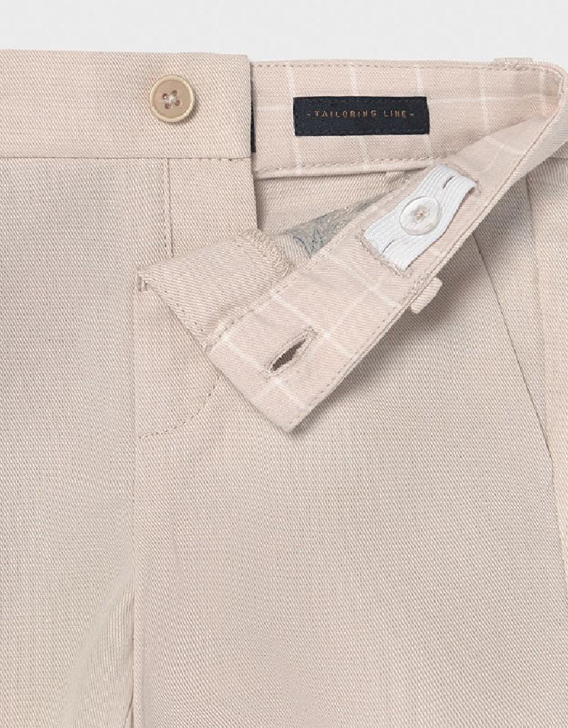 Canvas Linen Dressy Shorts