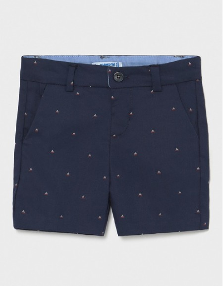 Nautical Seersucker Bermuda Shorts