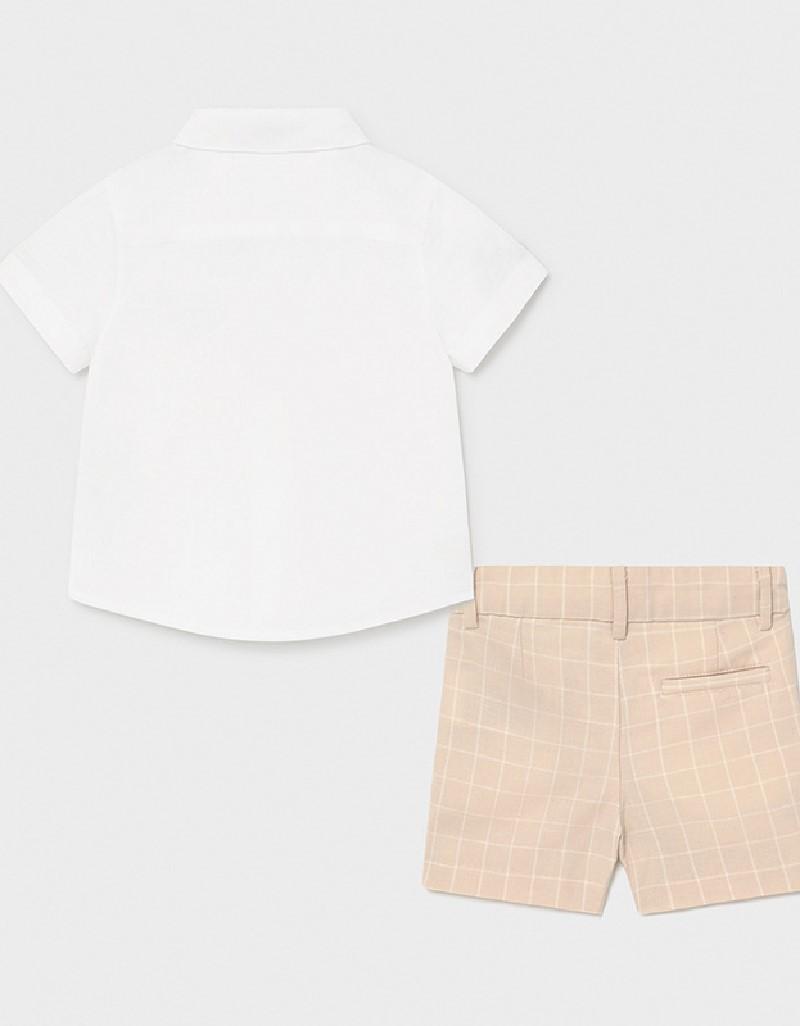 Canvas Dressy Linen Short Set
