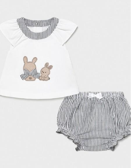 Black Shorts Set