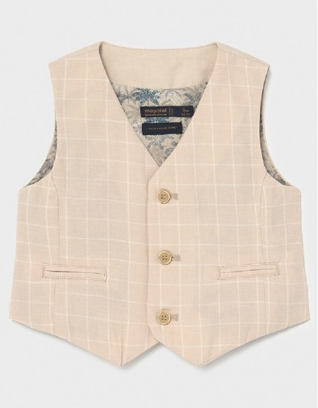 Canvas Dressy Linen Vest