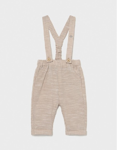 Toffee Long Trousers With Suspenders
