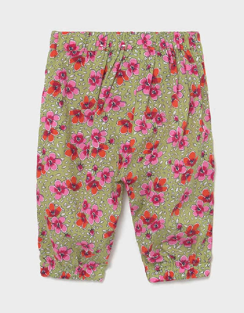 Green Fluid Trousers