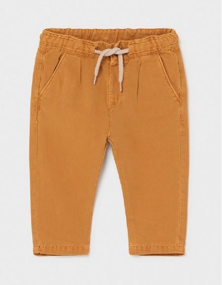 Caramel Casual Linen Trousers