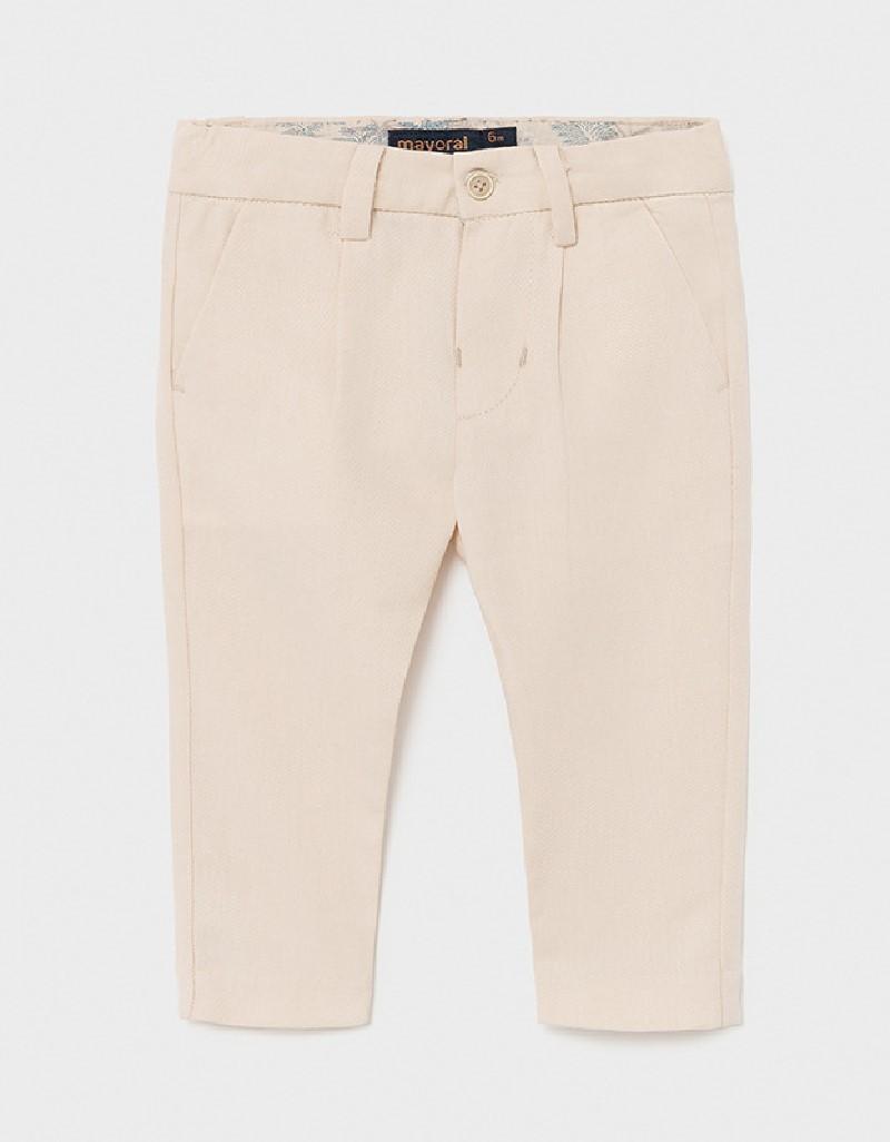 Canvas Dressy Linen Pants