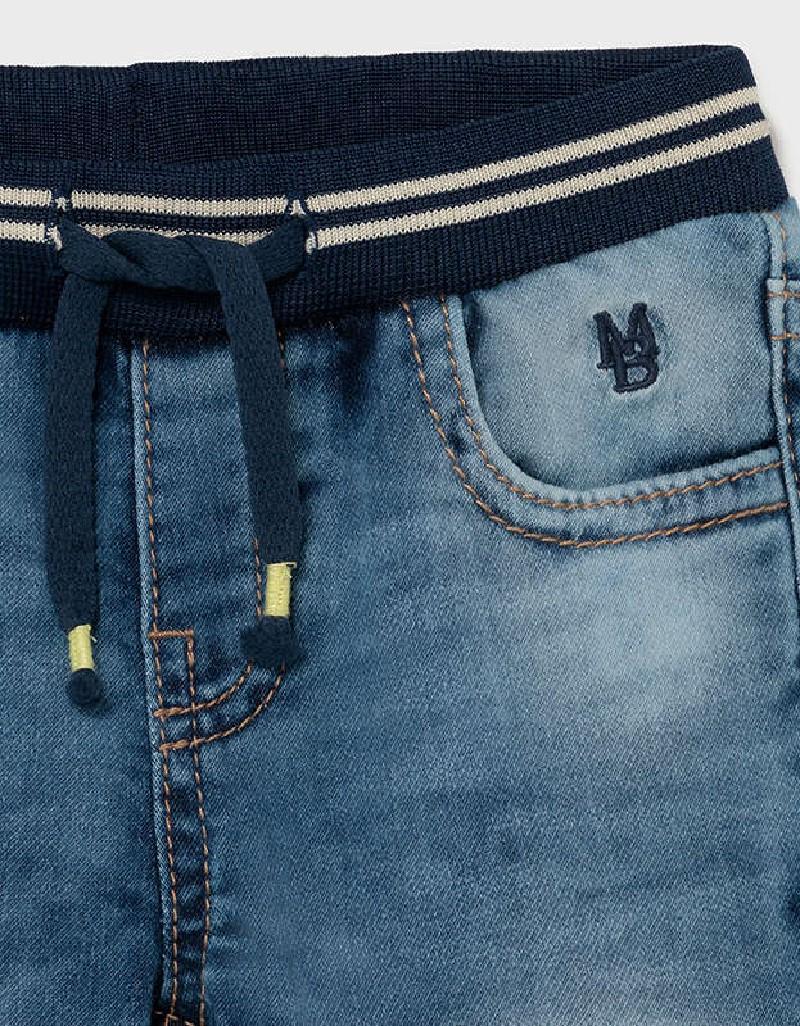 Light Soft Denim Jogger Pants