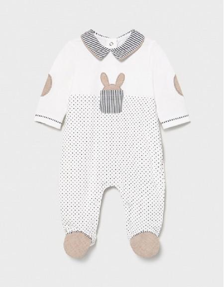 Black Combined Knit Pyjama