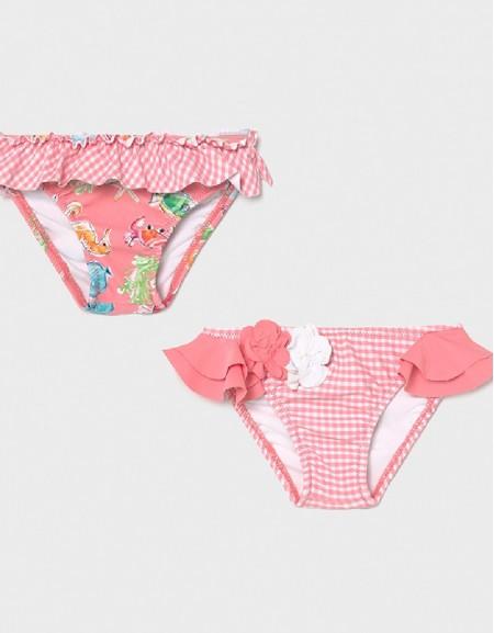 Flamingo Set Of 2 Bikini Bottoms