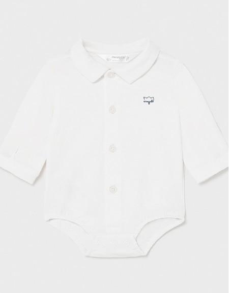 White Knit Bodysuit