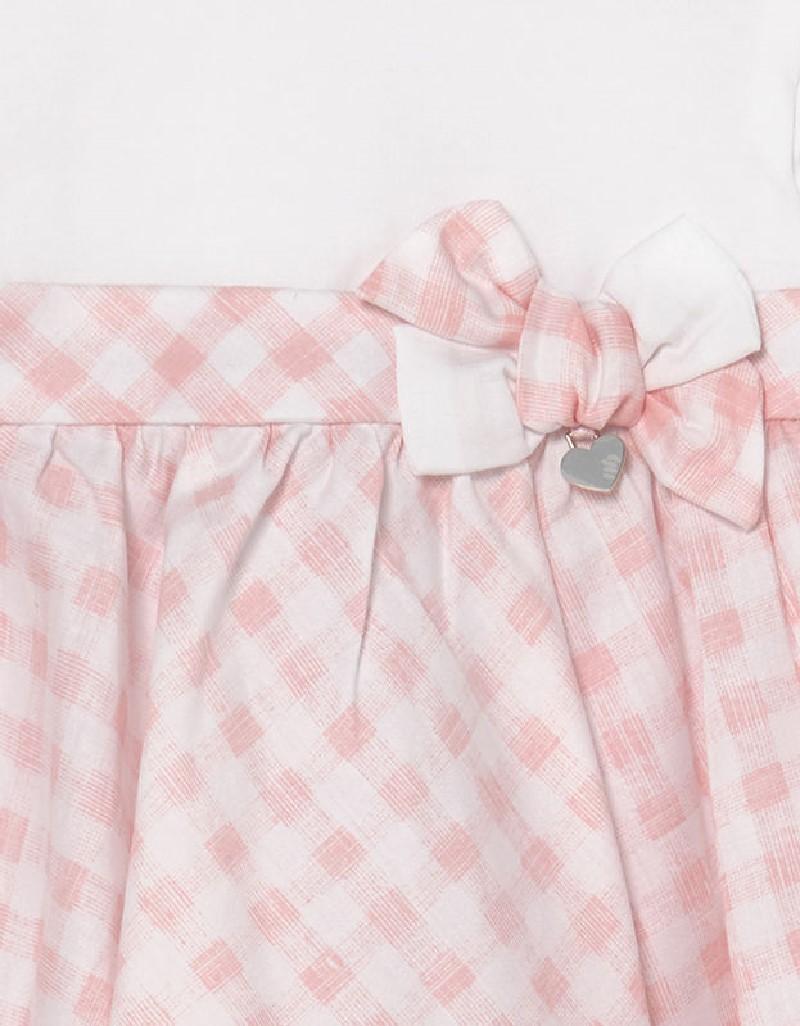 Candy Gingham Print Dress