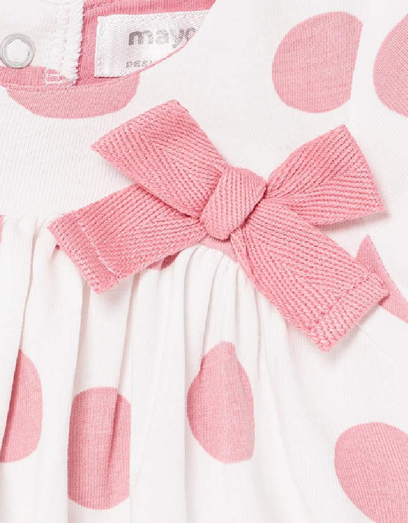 Bubble Gum Spot Knit Dress