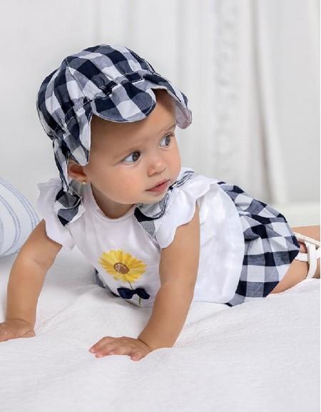 Navy Skirt And T-Shirt Set
