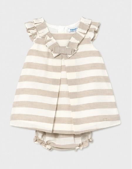 Linen Linen Stripes Dress