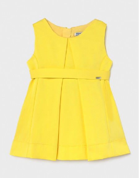 Yellow Ecofriends Ottoman Dress