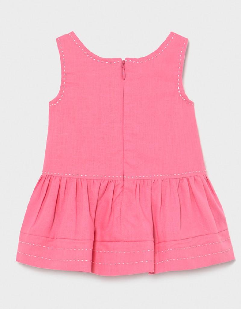 Camellia Linen Dress