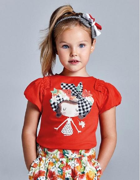 Persimmon Ecofriends T-Shirt Doll Design