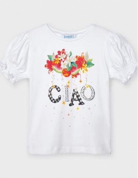 White S/S Ciao T-Shirt