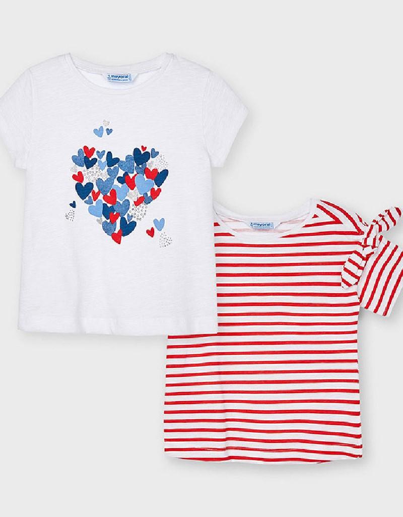 Poppy Set Of 2 T-Shirts