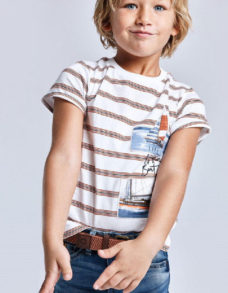 Clay Stripes S/S T-Shirt