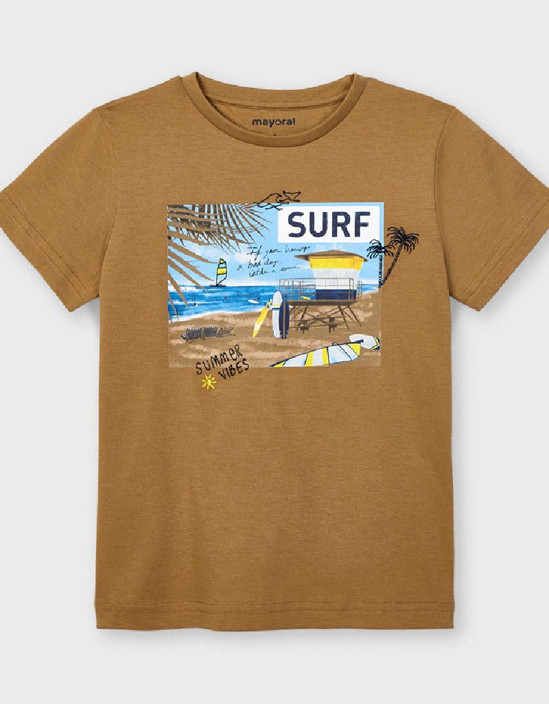 Beach Ecofriends Sustainable Cotton Surf T-