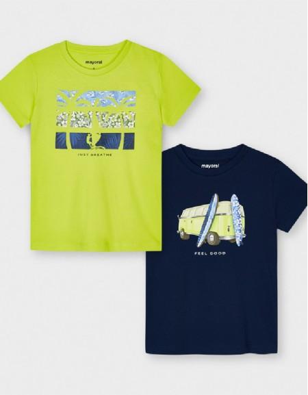 Rain S/S 2 Pcs T-Shirt Set