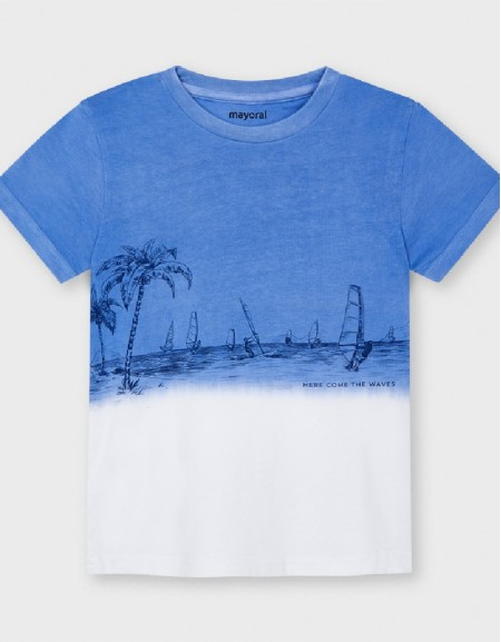 Waves S/S Dip Dye T-Shirt
