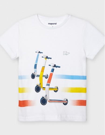 White S/S Skater T-Shirt