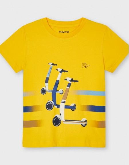 Yellow S/S Skater T-Shirt