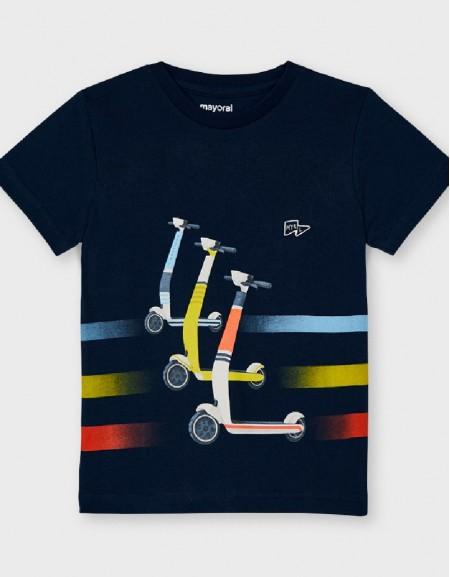 Navy S/S Skater T-Shirt