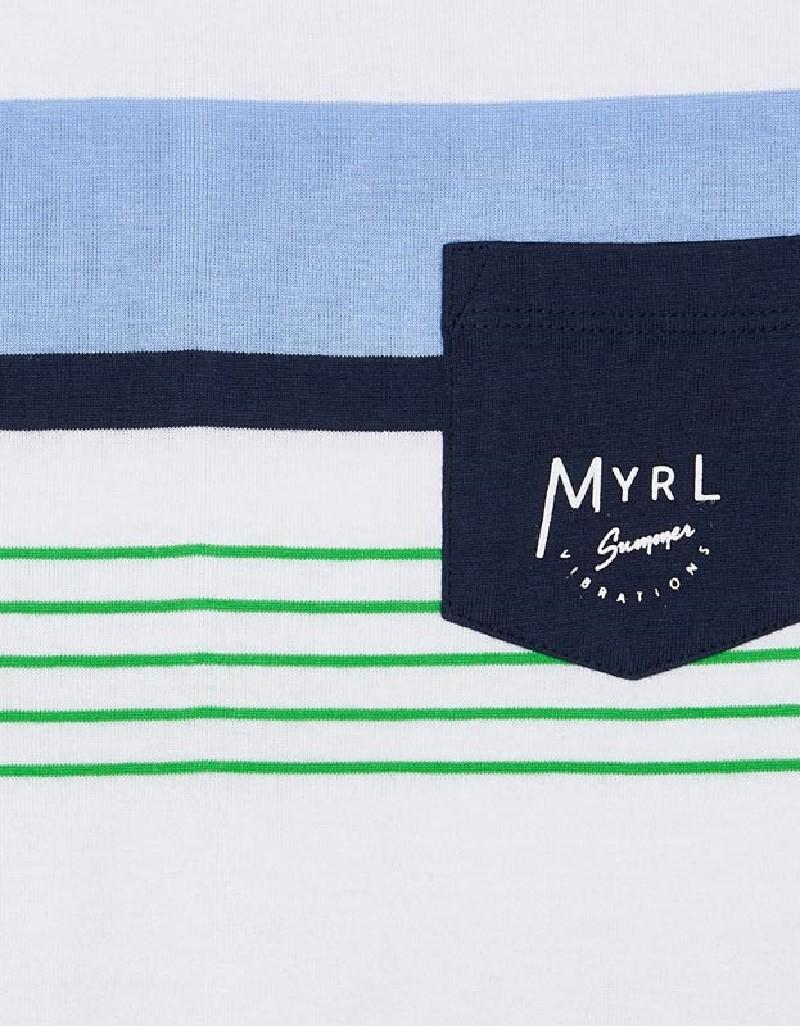Matcha Striped T-Shirt