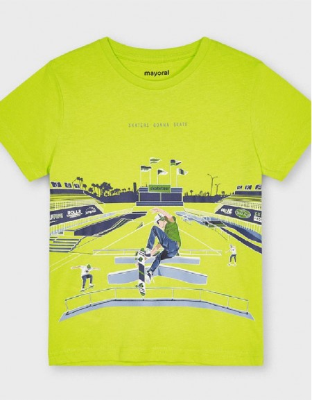 Green S/S Glow In The Dark T-Shirt