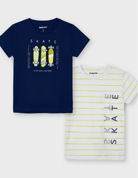 Rain S/S 2 Pcs T Shirt Set