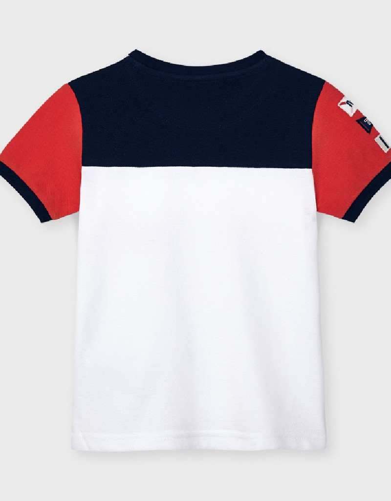 Cyber Red Ecofriends Combined T-Shirt