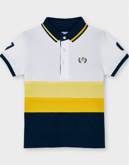 Yellow Combined Polo