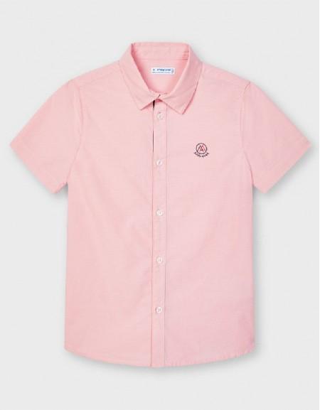 Rose Short Sleeve Dress Shirt