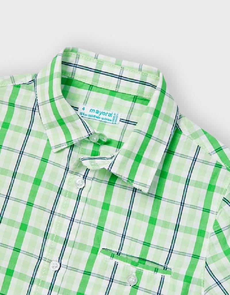 Matcha Checked Shirt