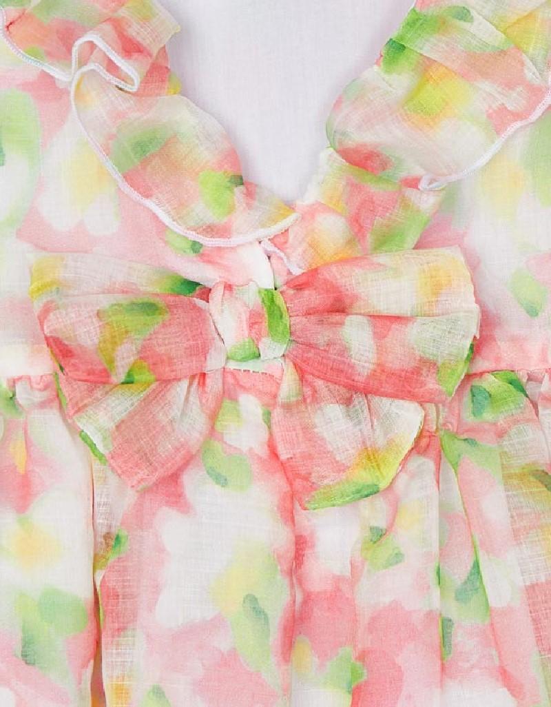 Flamingo Printed Blouse