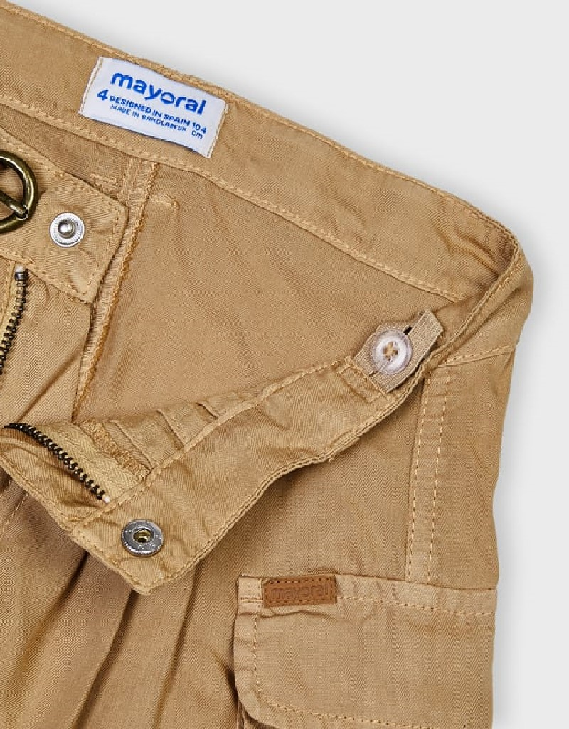 Caramel Ecofriends Flowy Shorts
