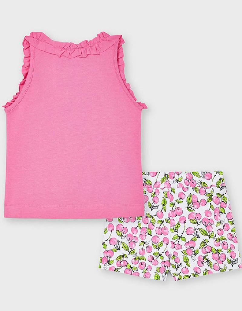 Camellia Short Aplique Set
