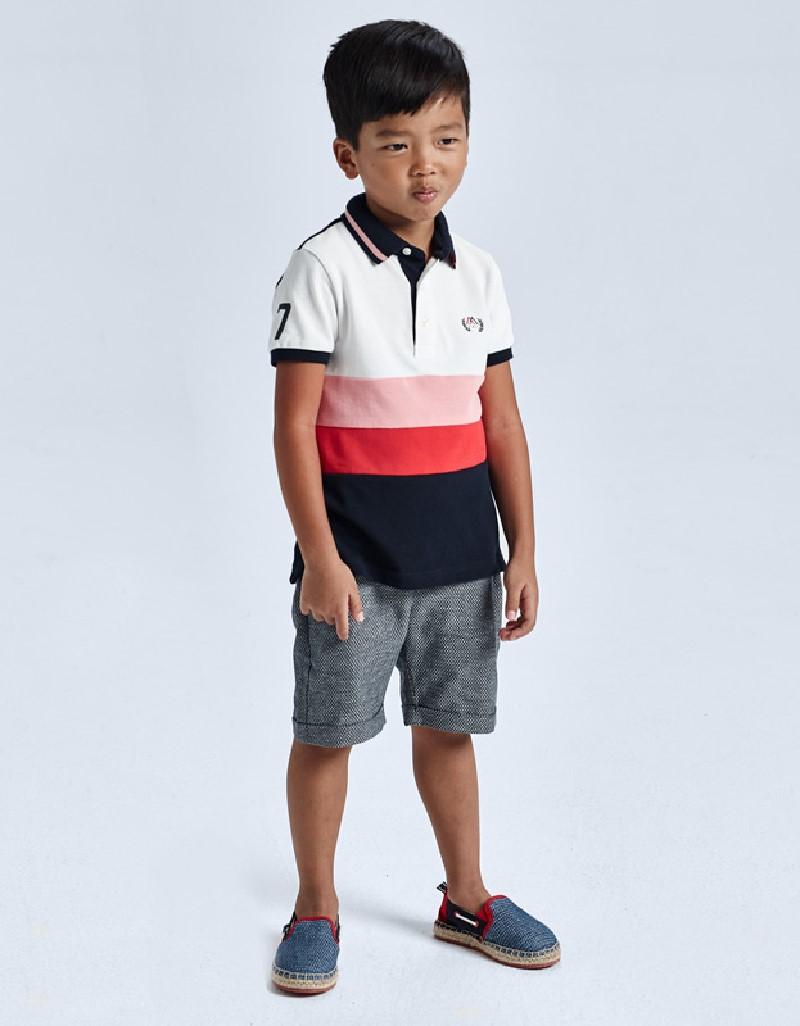 Navy Tailored Linen Shorts
