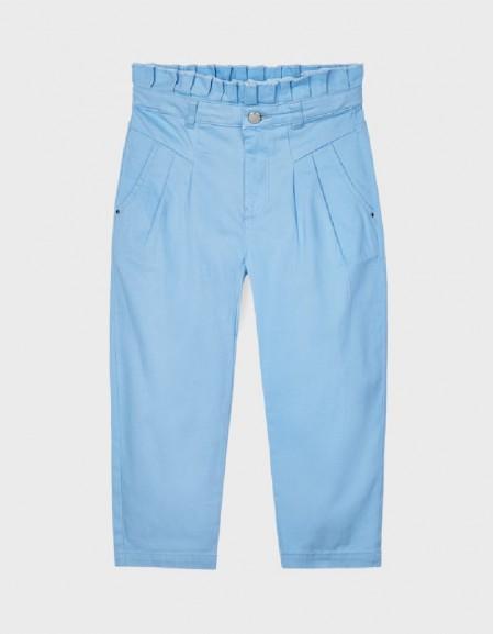 Lightblue Slouch Trousers