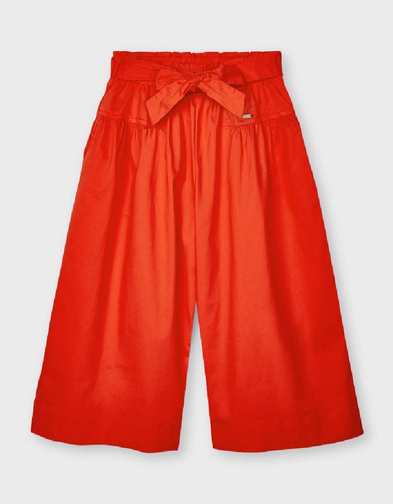 Persimmon Poplin Culotte Pants