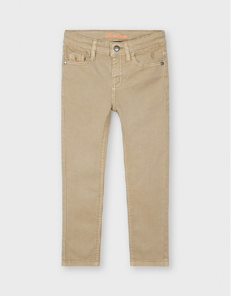 Sesame Twill Skinny Pants