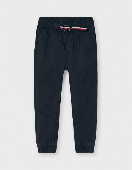 Vynil Rubber Look Joggers