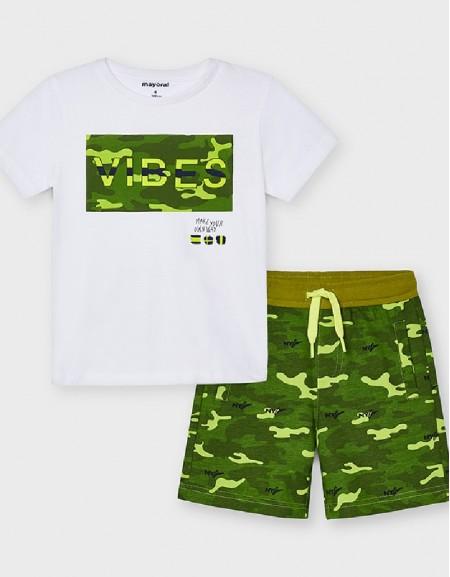 Amazon Knit Camo Set