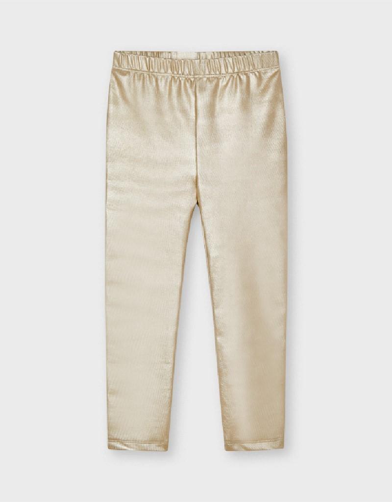 Golden Metalized Leggings